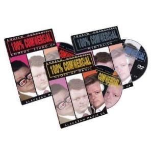 Set of 3 Andrew Normansell DVDs